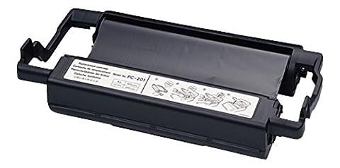 Brother PC201 - 1 - black - print ribbon