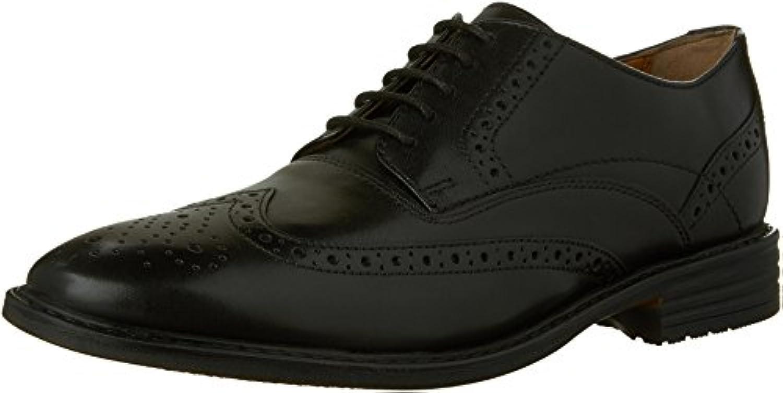 garvan pointe à boston cuir les oxfords chaussures, cuir boston noir, 13 e1032e