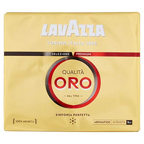 Lavazza Caffè Macinato Qualità Oro - 2 Confezioni da 250 gr [0.5 Kg]