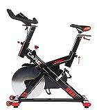 CARE FITNESS - Spider électronique - Spin Bike - vélo d'Appartement Spinning - Spin Bike Haut de Gamme - Poids d'inertie 24 kg