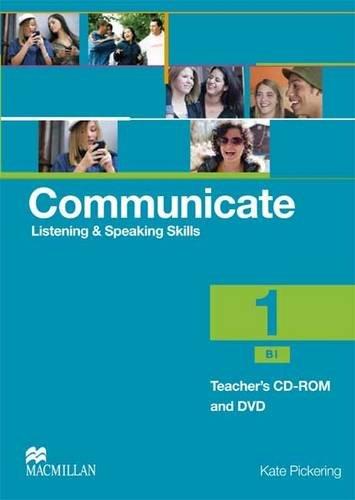 Communicate 1 CD Rom Pack International por Kate Pickering