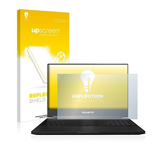 upscreen Matt Schutzfolie für Gigabyte Aero 15X - Entspiegelt, Anti-Reflex, Anti-Fingerprint