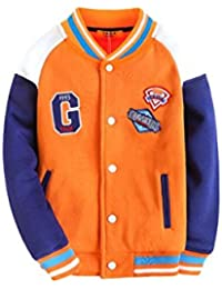 Enfants enfants garçons manteau baseball uniforme printemps 2016 nouvelle grande vierge veste chemise Spring Tide