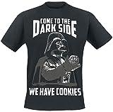 Star Wars - Camiseta, Talla M, diseño con inscripción «Come To The...