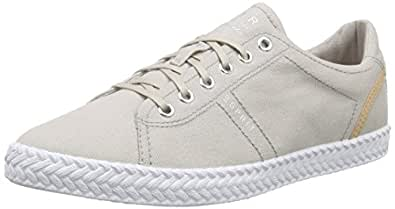 ESPRIT Silvana Lace up, Damen Sneakers, Beige (040 Light Beige), 36 EU