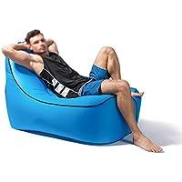 YJchairs Luft Sofa Faule-Tragbare Wasserdichte Leichte Aufblasbare (Farbe : Blau) preisvergleich bei kinderzimmerdekopreise.eu