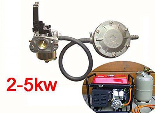 Preisvergleich Produktbild logas Generator/Stromerzeuger 2-5 kW tragbar, für Verwendung mit Propan LPG/Benzin
