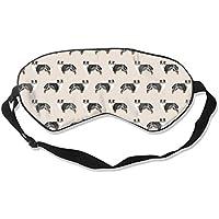 Natural Silk Eyes Mask Sleep Funny Dog Blindfold Eyeshade with Adjustable for Travel,Nap,Meditation,Sleeping,Shift... preisvergleich bei billige-tabletten.eu
