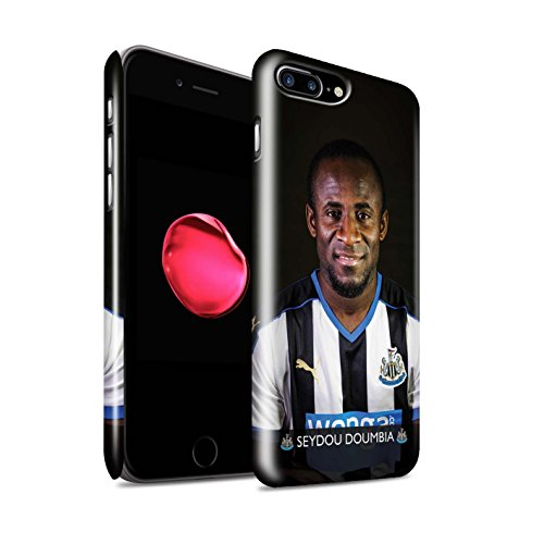 Offiziell Newcastle United FC Hülle / Glanz Snap-On Case für Apple iPhone 7 Plus / Sissoko Muster / NUFC Fussballspieler 15/16 Kollektion Doumbia