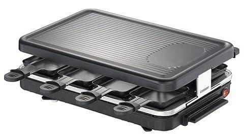 Appareil à raclette pour 8 personnes / option grill - (Mini Natale Piastra)