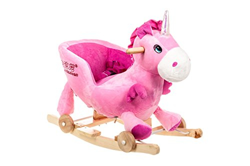 Costello� HQ UNICORN BABY CHILDREN KID SOFT ROCKING HORSE ANIMAL TODDLER CHAIR INFANT ROCKER TOY ?FREE NEXT DAY DELIVERY?SAME DAY DISPATCH BEFORE 2PM?
