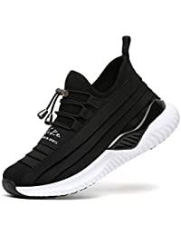 Zapatillas de Running para Mujer Gimnasia Ligero Sneakers Unisex Niños