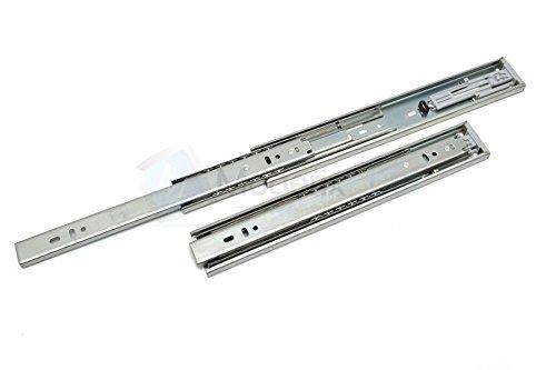 Lot de 1 Coulisse de tiroir SOFT-CLOSE tiroir montage latéral H45 L-500