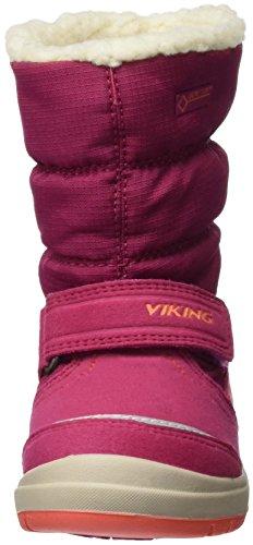 Viking Gisl, Bottes de neige fille Rose - Pink (Fuchsia/Coral 1751)