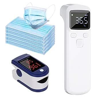 Anself Körpertemperatur Tool Lcd Digitalanzeige 50pcs Home Cover Digitales Fingerspitzen Tool Gewerbe Industrie Wissenschaft