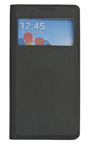 Sun Mobisys™;Samsung Galaxy S4 I9500 I9500 Flip Cover; Flip Cover for Samsung Galaxy S4 I9500 I9500 BLACK  available at amazon for Rs.199