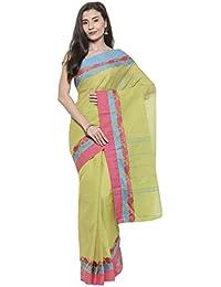 The Chennai Silks - Chettinad Pure Cotton Saree - Oasis Green - (CCMYSC7965)