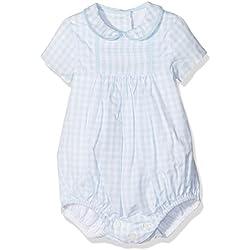 NECK & NECK Ranita Tejido-16I03103.20, Body para Bebés, Celeste 20, 3M