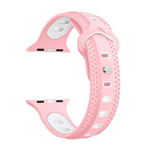 jieGREAT ❤❃ Räumungsverkauf❤❃ ,Ersatz Sports Soft Silicone Watch Band Strap for Apple Watch Series 4 44MM Wide-band Noise Cancelling Headset