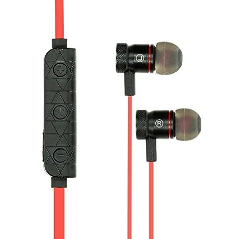 Bluetooth Kopfhörer von NICA, In Ear Headset mit Magnetischen Earplugs Kabellose Wireless Sport Headphones, Stereo Headset mit Freisprecheinrichtung für z.B Smartphones, iPhone, Tablet, Laptop, (Telefon Von Amazon)