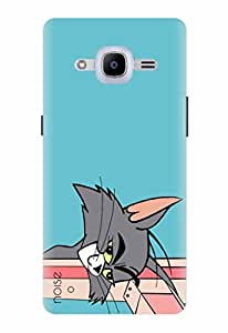 Noise Designer Printed Case / Cover for Samsung Galaxy J2 - 6 (New 2016 Edition) / Comics & Cartoons / Tom Design (GD-94)