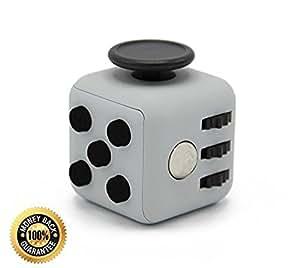 Fidget Cube Anti-Stress Toy , Grey
