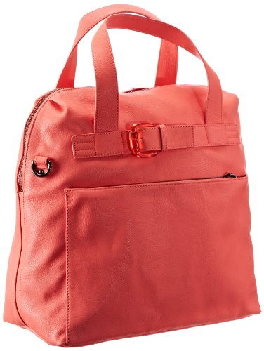 Mexx 13baw006 - Buckle Tote 3FBWB005, Damen Messengertaschen, Pink (Bright Hibiscus 674), 35x37x18 cm (B x H x T) (Buckle Tote)