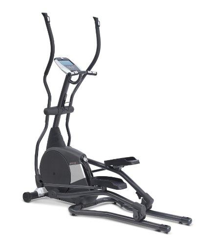 Horizon Fitness Elliptical Ergometer Andes 5, schwarz/ silber, 182 x 65 x 189 cm