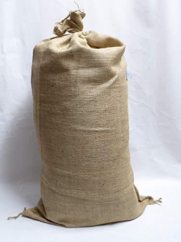 Onlineshopreich 10 Jute Säcke Kartoffelsäcke Sack 25 Kg fassend ca. 51 x 86,5 cm