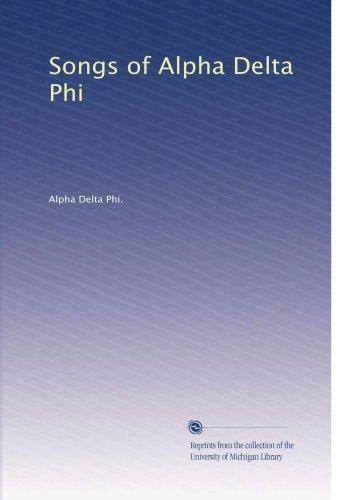 Songs of Alpha Delta Phi