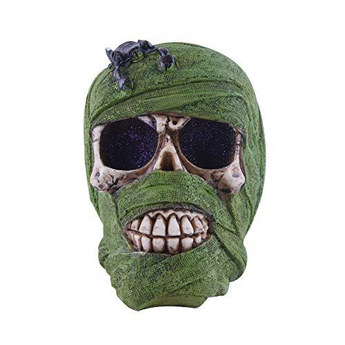 del Statue Skelett Wandern in der Wüste Friedhof der Craniums Dekoration Skulptur Halloween Horror Scare Figur ()