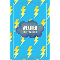 Weather Log Tracker: Gifts For Weather Enthusiasts - a great logbook, diary or notebook for tracking weather patterns