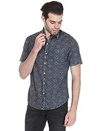 Reevolution Men's Cotton Stonewash Shirt (MCAH310392)