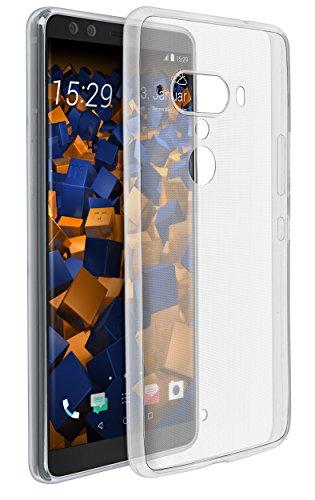 mumbi UltraSlim Hülle kompatibel mit HTC U12+, klar