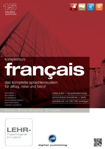 Komplettkurs Français Version 15: Das komplette Sprachlernsystem für Alltag, Reise und Beruf. Niveau A1/B2