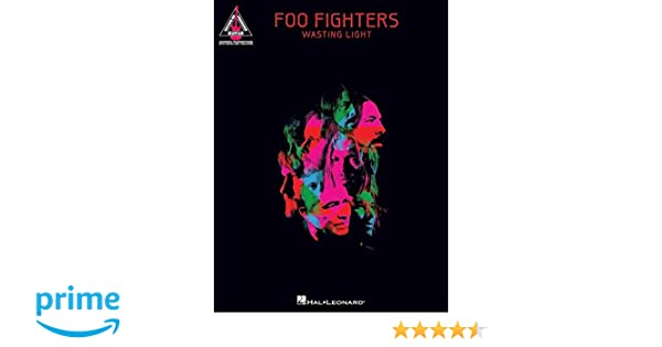 Foo Fighters Wasting Light Guitar Recorded Versions Amazoncouk