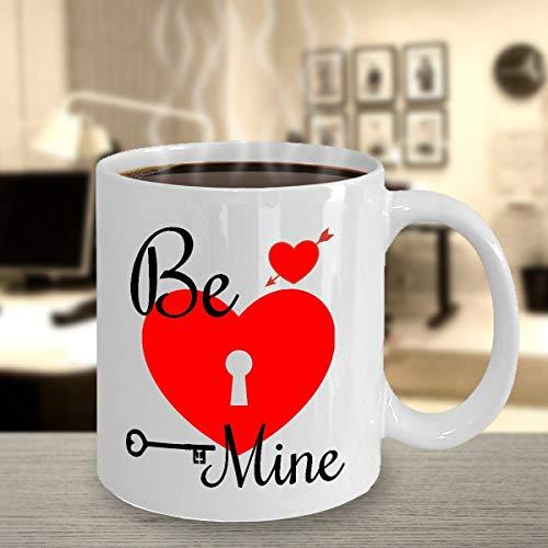 Alicert5II Be Mine Valentine Mug for Men Donna Love Gift Valentines Day Tazza DesignedGifts Love Celebration Cup Heart Mug Stampato in Tazza USALove