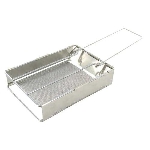 Highlander Folding Grill – Silver