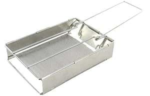 Highlander Folding Grill - Silver