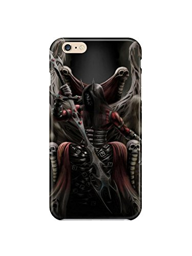 i6ps 0617 Dark Reaper Glossy Coque Cuir Case Cover pour iPhone 6 Plus (5.5)