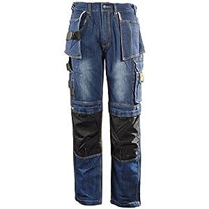 dblade trabajo Jeans Multi Pocket, 1pieza, s, Azul Vaquero, w180001800408