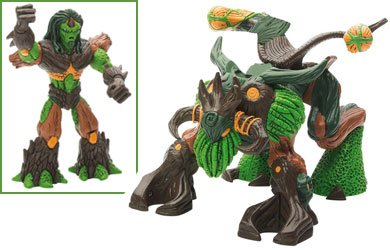 Gormiti The Lords of Nature Return Guardian - Lucas with Troncalion