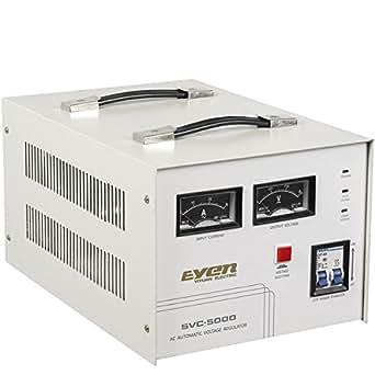 Svc 5000va stabilizzatore di tensione 220v for Stabilizzatore di tensione 220v 3kw prezzi