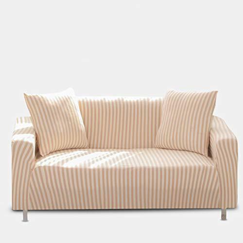 Sqinaa cotone,fodera per divano a righe protettore di animali domestici bambini divano letto cuscino per 1 pezzo morbido divano copre-a