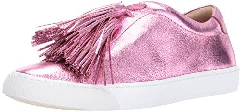Loeffler Randall Damen Logan (Metallic Foil/Tassels) Turnschuh, Carnation Pink, 39 EU