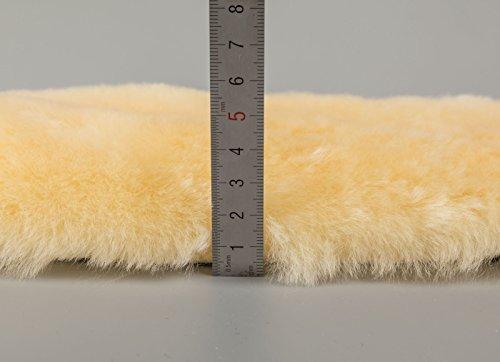 Merauno Sheepskin Girth Sleeve Sheepskin Under Belly Strap Protector - 60 cm 5