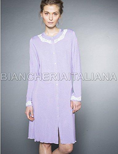 RAGNO Camicia da Notte Donna linea Cuore&Batticuore maniche lunghe ***BRIOSO E GIOVANILE*** Rose