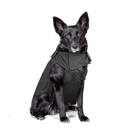 IREENUO Hunderegenmantel, Wasserdichter Hundemantel Regenjacke, mit Sicherheits Reflex Streifen, Geeignet für Outdoor…