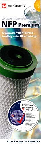 Carbonit Monoblock Filterpatrone NFP