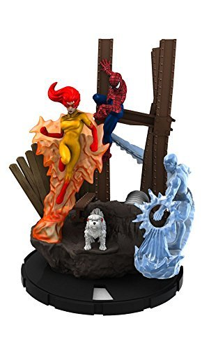 Base-team (Spider-Man and His Amazing Friends Heroclix Team Pack Team Base)